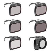 Mavic Mini profesjonalny obiektyw zestaw filtrów ND ND PL ND4PL ND8PL ND16PL ND32PL MCUV CPL dla DJI Mavic Mini akcesoria do dronów