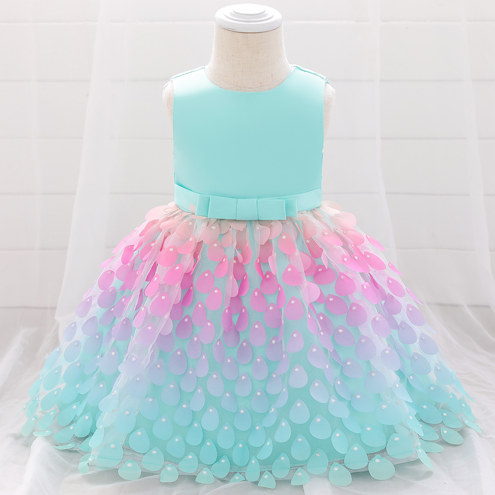 New Summer Babys Dress Toddler Girls Princess Dress Kids Baby Party Wedding Sleeveless Prom Infant Dresses Baby Girl Clothes