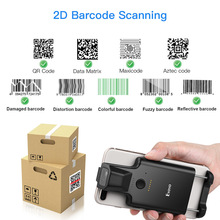 CODE Scanner Barcode-Reader Portable Bluetooth-Bar Eyoyo-Phone 1D Android 2D Back-Clip