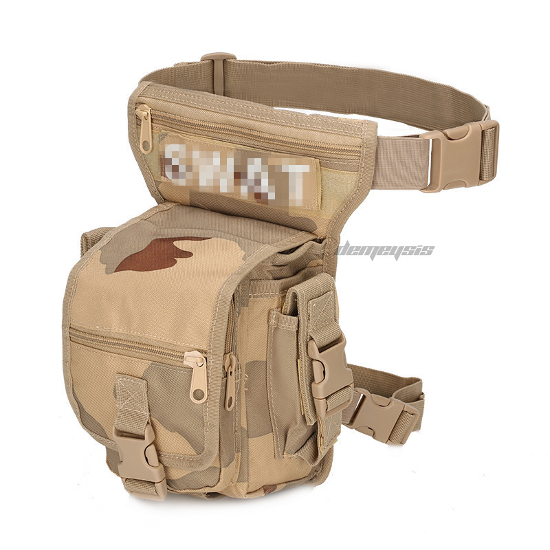 Outdoor Multifunctional Tactical Drop Leg Bag Tactical Military  Hunting Waist Pouch Leg Sport Ride Special Bag