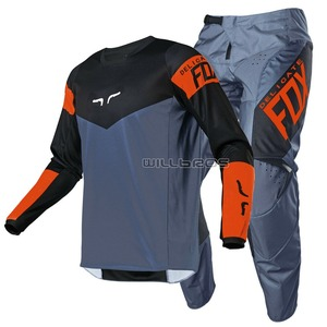 Delicate Fox MX ATV 180 Revn Gear Set Motorcycle Motocross Racing DH MTB Dirt Enduro Bike Cycling Jersey Pants Combo