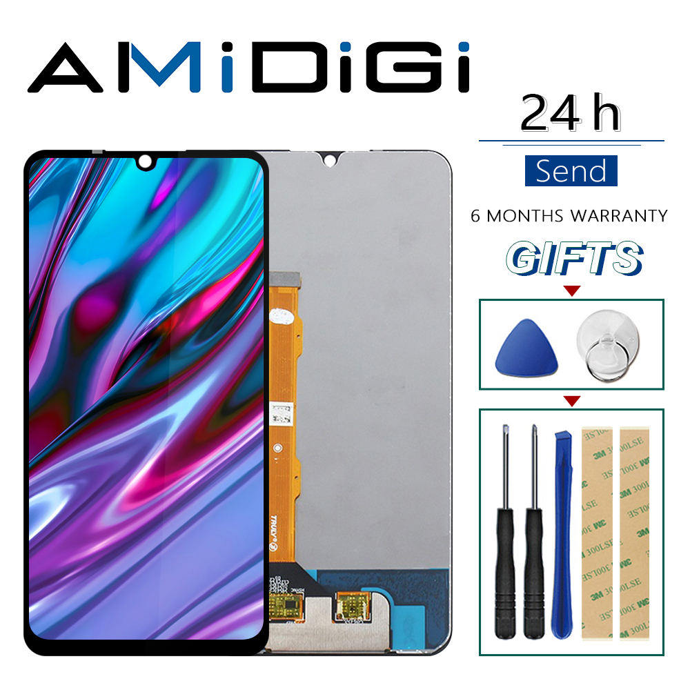 For UMIDIGI A5 PRO LCD Display+Touch Screen Digitizer 100% Original Tested LCD Screen Glass Panel For umidigi A5 PRO lcd+tools