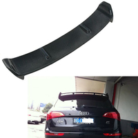 Carbon fiber Q5 ABT style rear trunk spoiler wing for Audi Q5 spoiler 2009~2013
