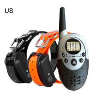 1000m New Waterproof Rechargeable Anti Barking Dog Training Collar with Remote Control Electric Dog Shocker Collar