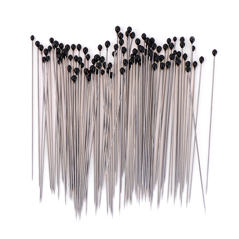 HELTC 100pcs Stainless Steel Insect Pins Specimen Pins For School Lab Education Wholesale