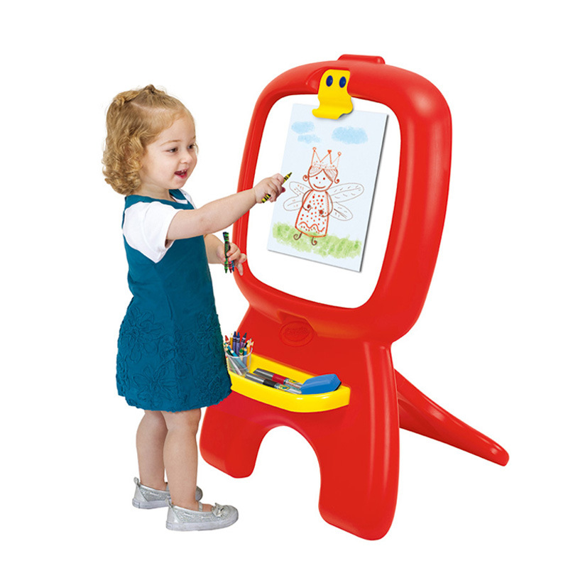 Crayola CHILDREN'S Drawing Board Folding Small Easel Easy To Storage Whiteboard Writing Board Young Children Fun Graffiti Drawin