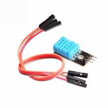 2021 температура и относительная влажность датчик DHT11 модуль с кабелем умный человек тело датчики для Diy Kit Fastship