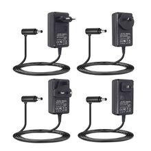 充電電源アダプタ充電器au/英国/米国/euプラグ用V8 V7 V6 DC58 DC59 DC61 DC62 DC74掃除機アクセサリー