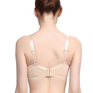 Image 2 - ONEFENG 6030 мастэктомия бюстгальтер карманное нижнее белье для силиконовых протезов груди рак груди женские Искусственные Грудь