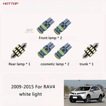 2009 2011 2012 2014 2015 2016 2017 2018 2019 2020 For Toyota RAV4 Reading Light Led Interior Light Interior Light Interior Light image
