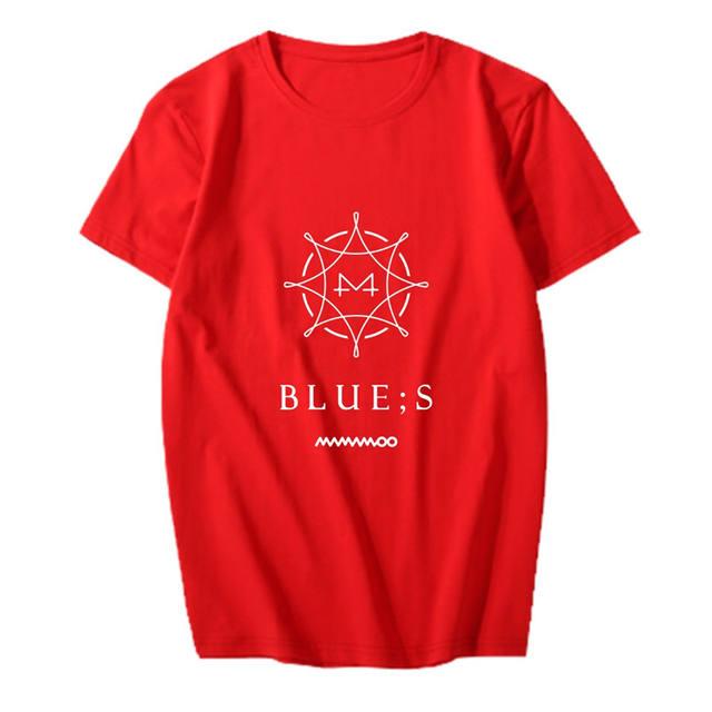 MAMAMOO ALBUM BLUE;S T-SHIRT (5 VARIAN)