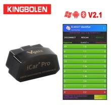 Vgate iCar pro bluetooth 3.0/4.0/WiFi Android/PC/iossupport modalità sveglia automatica Elm327 V2.1 OBDII strumento diagnostico lettore di codice