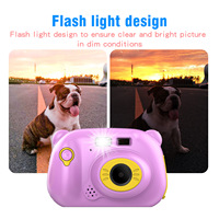 Children's Digital Camera Photo Video Camera Gift Educational Toys 12 Megapixel WiFi Dual Lens 2.0 Screen Colorful Kids Cameras