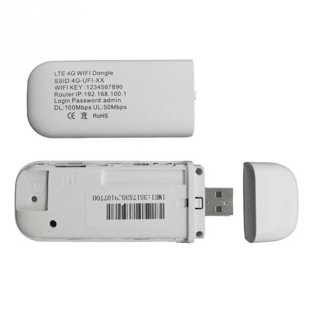 4G router wi-fi 100 mb/s modem usb bezprzewodowy dostęp szerokopasmowy mobilny Hotspot LTE 3G/4G odblokuj klucz z gniazdo sim Stick data Card