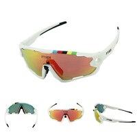 Ftiier photochromic cycling 자전거 자전거 안경 야외 스포츠 mtb 승마 하이킹 선글라스 고글 색상 변경 안경