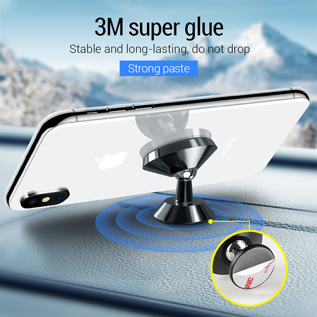 PZOZ Magnetic car phone holder Air Vent Mount Magnetic Holder for phone in car Universal stand CellPhone car for iphone holder 2