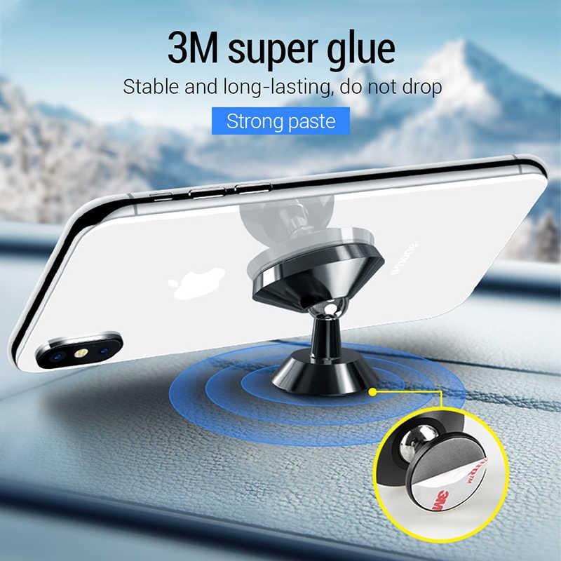 Pzoz Magnetik Mobil Ponsel Pemegang Air Vent Mount Magnetic Holder untuk Ponsel Di Mobil Universal Stand Ponsel Mobil untuk iPhone pemegang