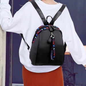 Travel Backpack Shoulder-Bags Student Bag Women Casual Fashion Wild Oxford Male -T2