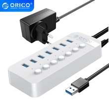 Orico 7 портов power ed usb 30 hub bc12 зарядное устройство