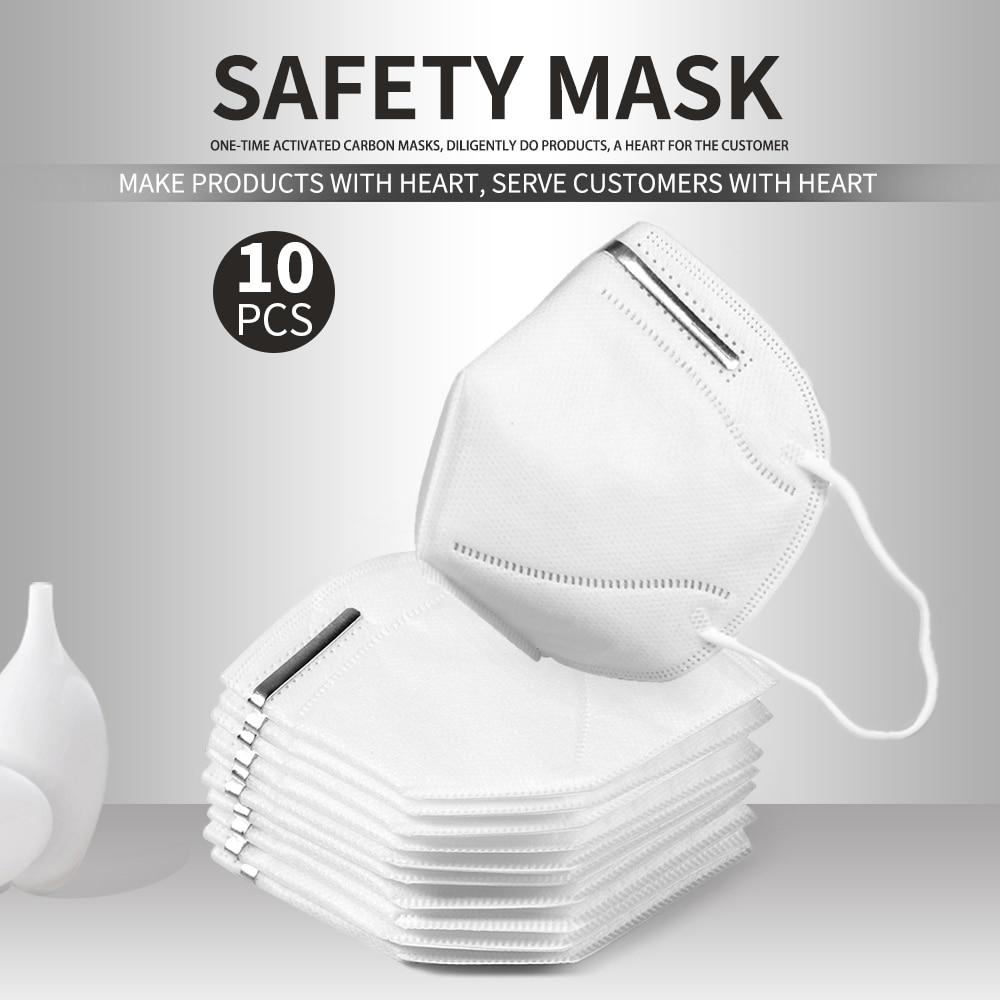 US $19.14 60% СКИДКА|Доставка в течение 24 часов 10 шт Анти загрязнения вируса KN95 рот маска пыль Одноразовые респираторы маски со ртом для лица рот ушные петли маски|Маски| |  - AliExpress