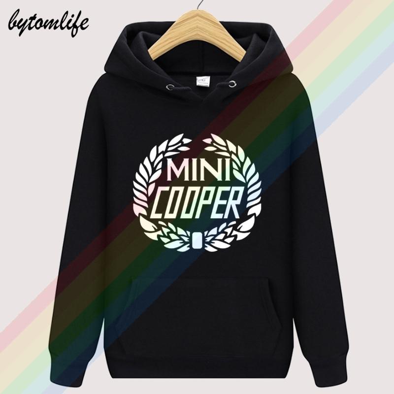 Mini Cooper ITALIAN JOB Cars Racing Autumn Unisex Top Hoodie Mens Fashion Wool Clothing Sweatshirt Pullover Asian Size