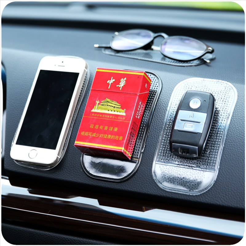 New 1PC Car Dashboard Sticky Pad Silica Gel Strong Suction Pad Holder Anti Slip Mat For Mobile Phone Car Accessories car decor