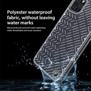 Image 3 - Dla iPhone 11 Pro Max Case 5.8 6.1 6.5 NILLKIN w jodełkę lekka odblaskowa poliestrowa wodoodporna tylna pokrywa dla iPhone11