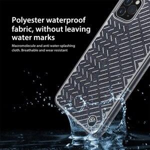 Image 3 - Pour iPhone 11 Pro Max Case 5.8 6.1 6.5 NILLKIN étui à chevrons lumière réfléchissant Polyester imperméable couverture arrière pour iPhone11