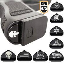 Tactical Grip Frame wkładka wtyczka Magwell do Gen 4/5 Glock 17 19 22 23 34 44 pistolet 9mm magazyn ukryte akcesoria do kabury