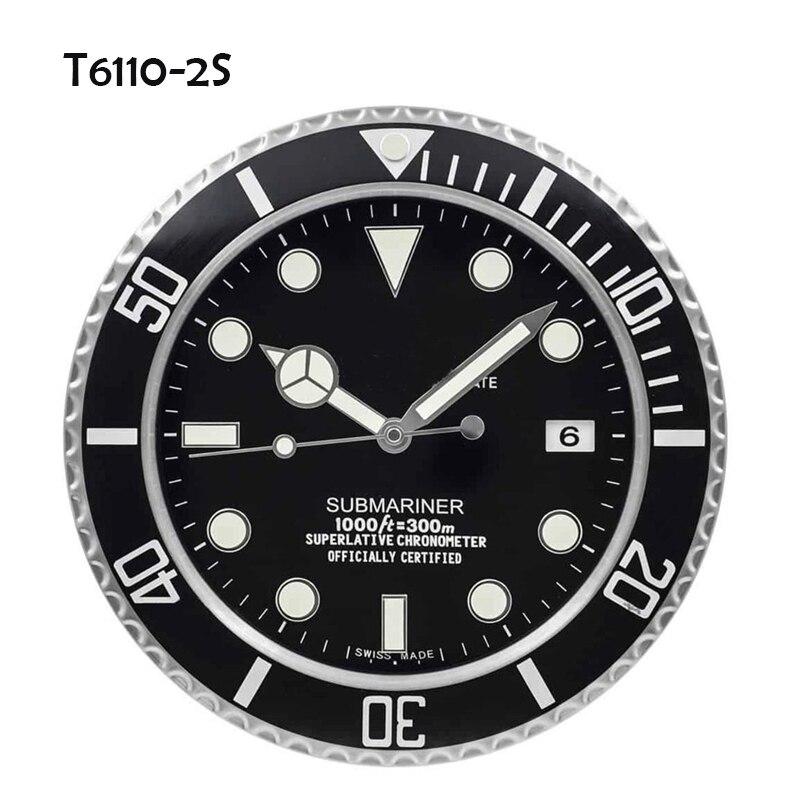 Wall Clock Luxury Design Metal Art Watch Clocks Relogio De Parede Decorativo Home Decor with Corresponding Logos 2019 Hot Sales