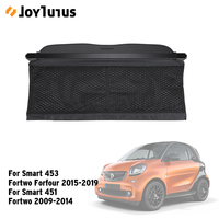 Rear Trunk Cargo Cover For Smart fortwo forfour 2009 2019 for Smart 453 451 Car Curtain Trunk Partition Security Shield Screen