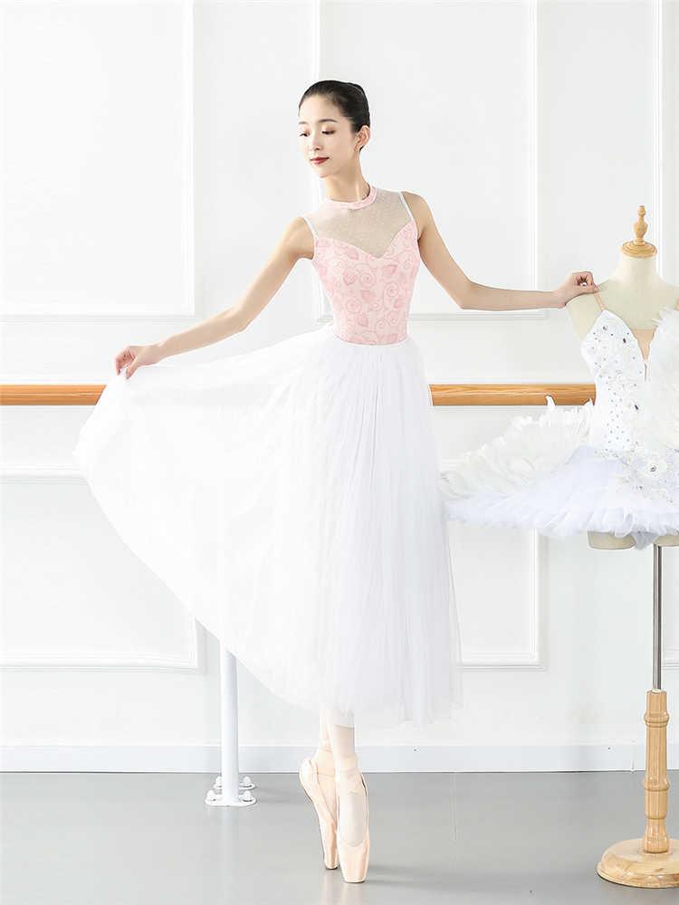 ใหม่ผู้ใหญ่บัลเล่ต์ Leotards Ballerina Bodysuit หญิงเต้นรำเสื้อผ้าเครื่องแต่งกาย Leotard ผู้ใหญ่ผู้หญิงยิมนาสติก Leotard สำหรับ Dancewear