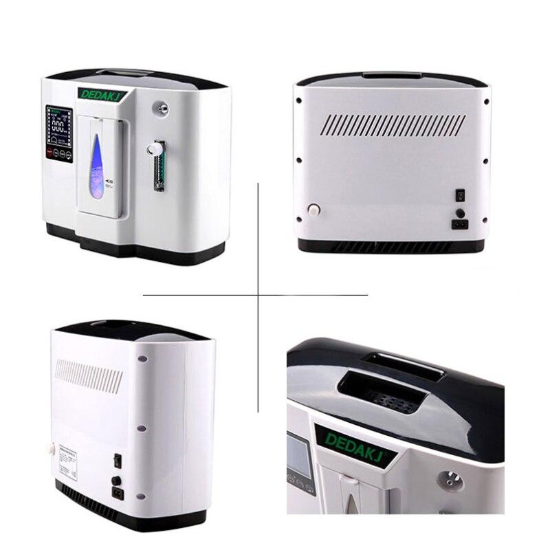 110/220V Tragbare Ventilator Sauerstoff Konzentrator Generator Sauerstoff Erzeugenden Maschine Medizinische Ergänzung Werkzeuge Englisch Version