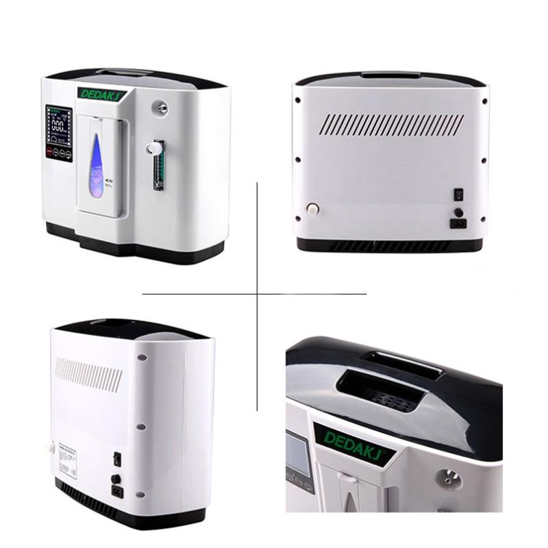 110/220V wentylator przenośny Generator koncentratora tlenu Generator tlenu suplement medyczny narzędzia angielska wersja