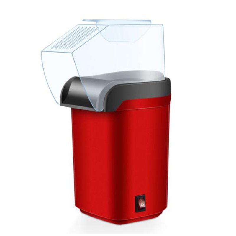 Easy Carry Electric Hot Air Popcorn Maker Retro Machine Cinema Home Gastronomic