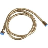 1.5m ouro cabeça de chuveiro mangueira longo flexível tubo de água do banheiro aço inoxidável