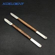 2 шт Стоматологическая лаборатория материал штукатурка шпатель Воск нож лезвие резак