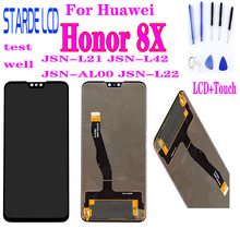 100% Original For Huawei Honor 8X LCD Screen Display+Touch Panel Digitizer Assembly 2340x1080 JSN-L21 JSN-L42 JSN-AL00 JSN-L22