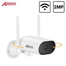 ANRAN 2MP PTZ ruota telecamera di sorveglianza monitoraggio automatico esterno telecamera di sicurezza Wi-Fi telecamera IP impermeabile visione notturna Audio Mic