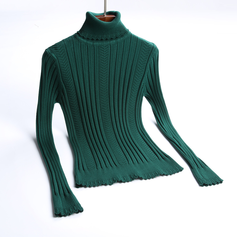 HLBCBG Thick Women Winter Sweater Turtleneck Warm Jumper Top High Quality Knitted Soft Female Pullover And Sweater