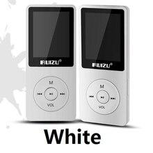 Music Player 100% Original RUIZU X02 English version Ultrathin MP3 Player with 8GB storage Play 80h High Quality Radio Fm E-Book