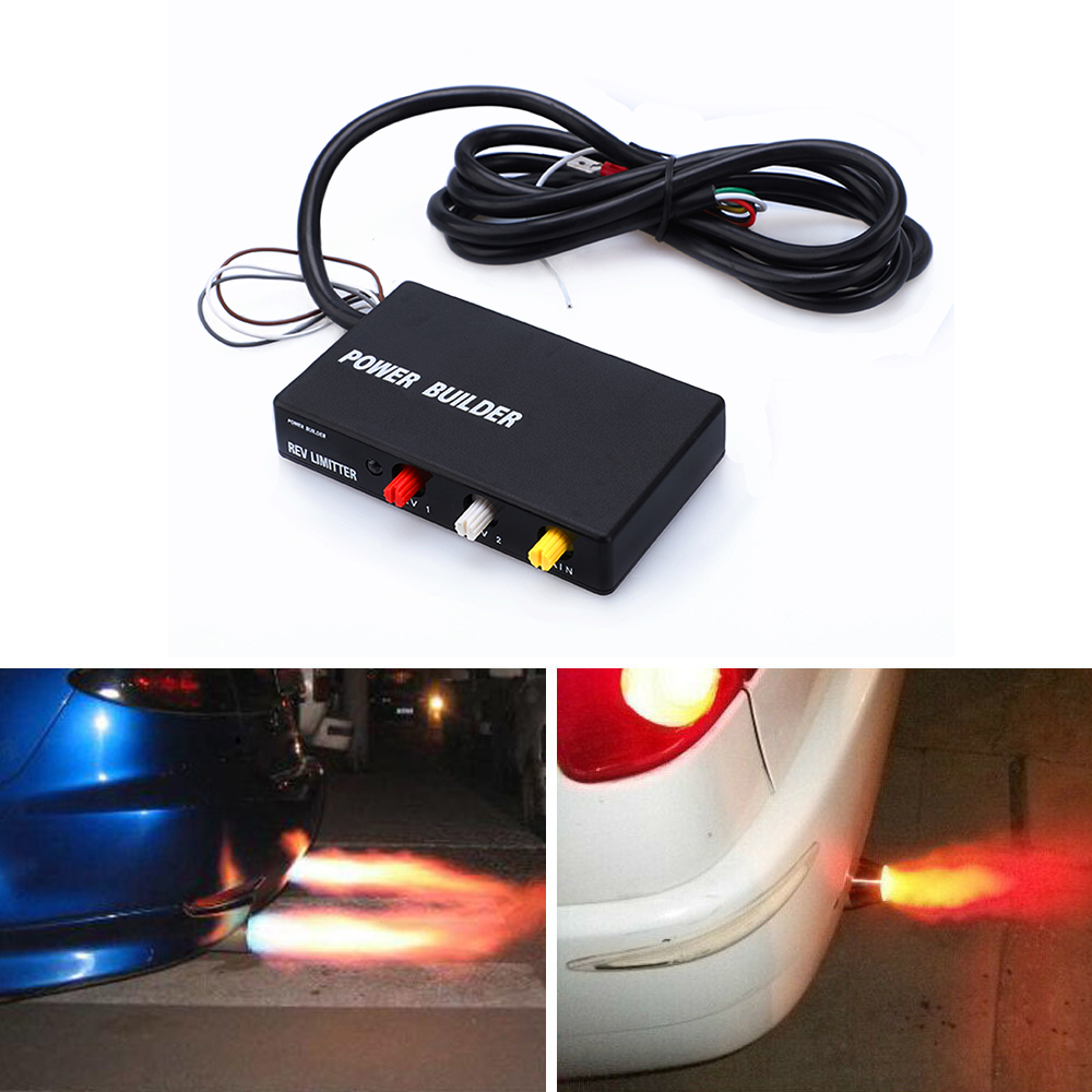 Racing Power Builder Type B Flame Kits Exhaust Ignition Rev Limiter Launch Control For Nissanfor Subaru For Toyota