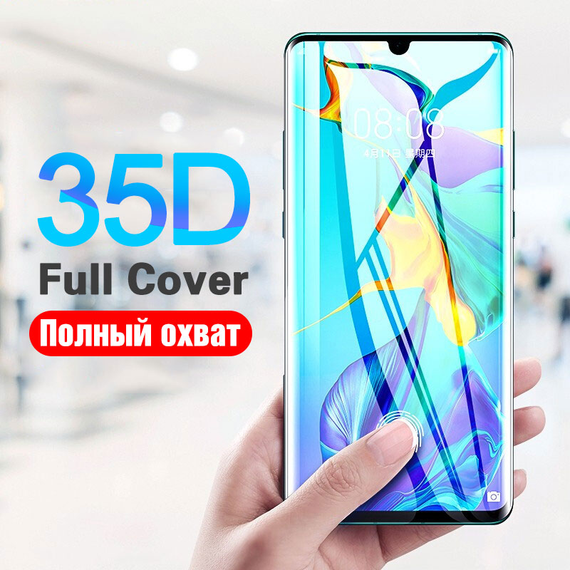 35D Protective Glass For Huawei P20 Lite Pro P30 P10 Lite Tempered Glass For Huawei Mate20 30 Lite Pro P20 Screen Protector Film