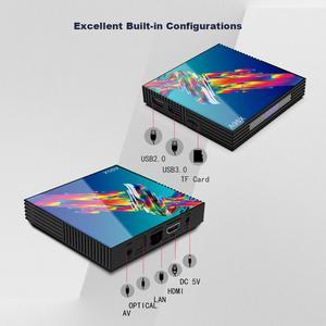 Image 4 - Smart Box Dispositivo de TV inteligente A95X R3, Android 9,0, 4GB de RAM, 64GB de ROM, Wifi, Youtube, reproductor multimedia 4K, Google Play