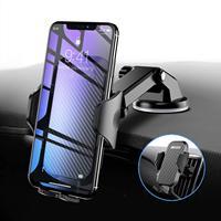 Car Phone Holder,Car Mount Phone Holder for Car Windscreen Car Dashboard Phone Holder Car Cradle Car Vent Mount