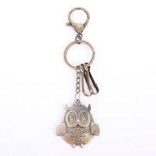 Promotional gifts owl key pendant car chain high-end valentines day for men and women