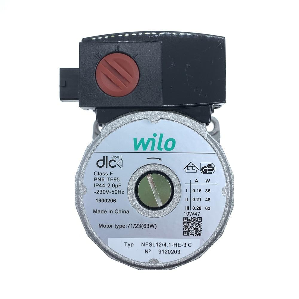 Gas Boiler Part Water Circulation Pump Motor For Wilo NFSL12/4.1-HE-3 C