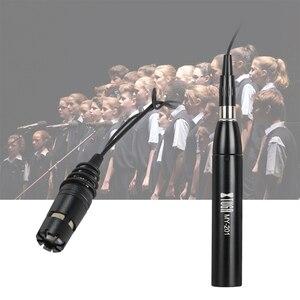 Image 5 - XTUGA ميكروفون بمكثف قلبي الشكل ، MY 201 ، XLR 3 Pin 48V Phantom Power للتعليق ، للتحدث ، المسرح ، أوركسترا