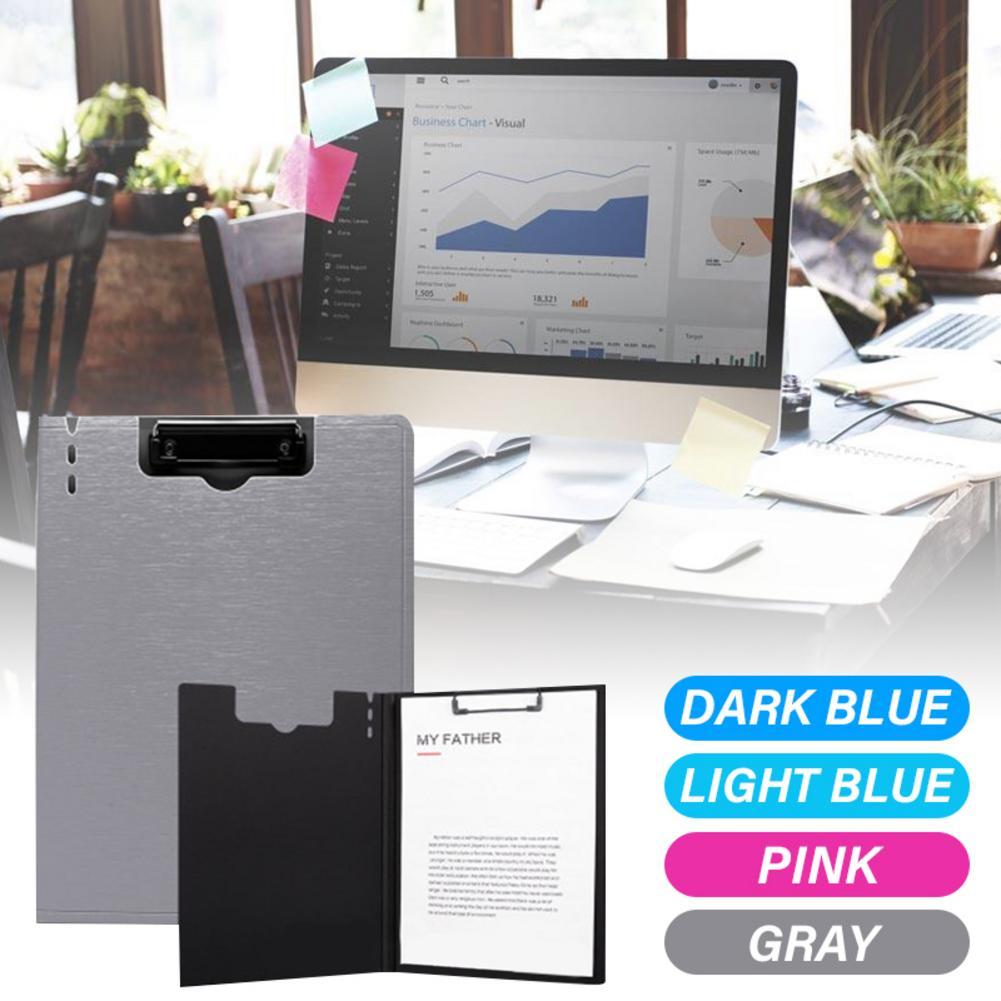 File Folder Document Clipboard Foam Board Clip A4 Size Writing Board Folding Folder Business Conference Office Work School Test