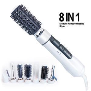 Фен для волос 8 в 1, расческа для распутывания волос, 1 шаг